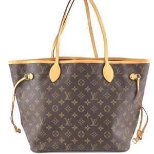 Neverfull Neo Monogram Canvas Shoulder Bag